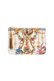 CAMILLA SMALL CANVAS CLUTCH BY THE MEADOW