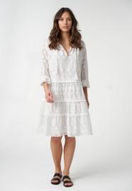 DEA KUDIBAL VILDA WHITE LACE DRESS