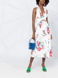 BOUTIQUE MOSCHINO FLORAL DRESS