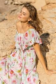MISS JUNE ROSES LONG DRESS