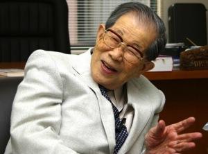 Bild: Dr. Shigeaki Hinohara  från    Internet