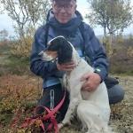 Haraldtorpets Skogsrå med förare Leif Berglund