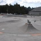 Skateparken på Vallarna