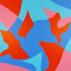 """Lewd"" (Part one) Acrylic on canvas, 2020"
