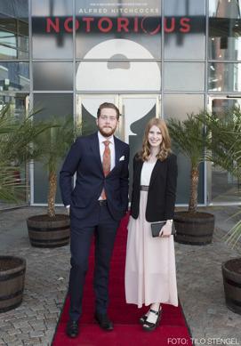 Kultur & Näringslivs Erica Smeds med sällskap.