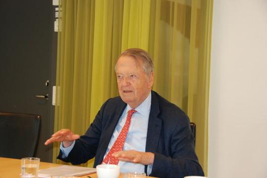 Dr. Arend Oetker på Tysk-Svenska Handelskammaren 9 juni