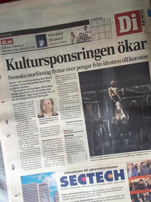 Kultur & Näringsliv i Dagens Industri