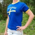 Sverige T-shirt Vuxen/Barn