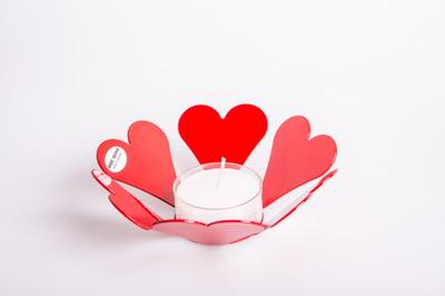 Heart Light ljushållare