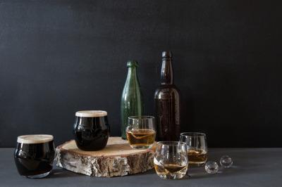 Big Pink Whisky/ölglas