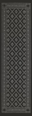 Ekelund Löpare Åttebladrose svart