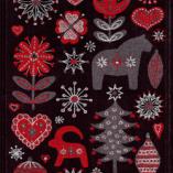 Ekelund Handduk Julnatt