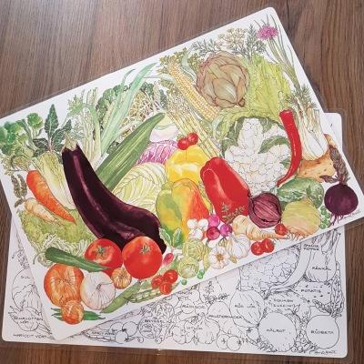 Bordsunderlägg Grönsaker
