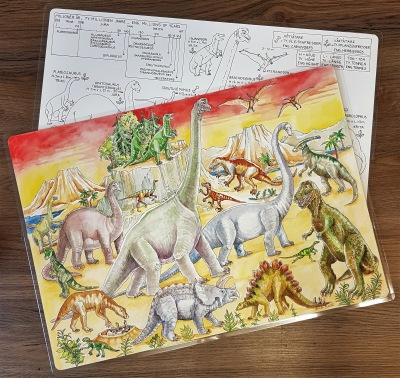 Bordsunderlägg Dinosaurer