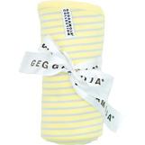 Babyfilt gul/ljusgrå