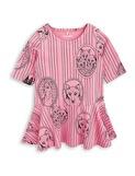 FOX FAMILY DRESS - PINK