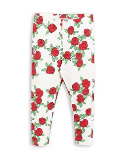 ROSE LEGGINGS - OFF WHITE - Stl 140/146