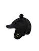 ALASKA EAR CAP - BLACK