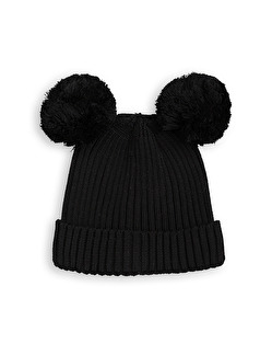 EAR HAT  - BLACK - Stl 44/46