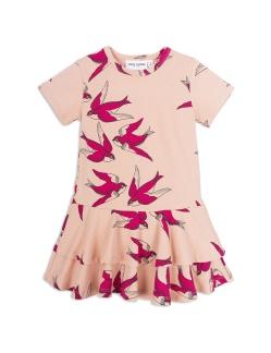 Swallows frill dress - St 80/86