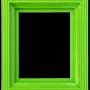 Ram i plast - Ljusgrön