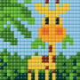 XL set, giraff