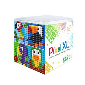 XL kub - Fyra olika motiv - Fåglar