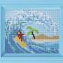Classic motiv med ram - Surfare