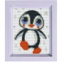 Classic motiv med ram - Pingvin