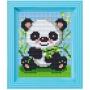 Classic motiv med ram - Panda