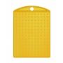 Nyckelring - Nyckelring transparant gul