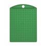 Nyckelring - Nyckelring transparant grön