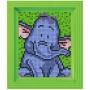 Classic motiv med ram - Elefant
