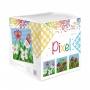 Pixel Classic kub - Pixel Classic kub - Blommor