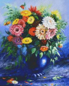 Vas med blommor - Vas med blommor