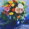 Vas med blommor