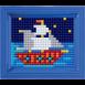 Olika XL motiv med ram - Skepp XL med ram