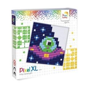 XL set, alien