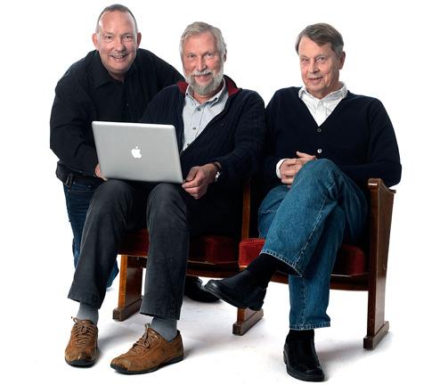 Michael, Rolf och Ingmar
