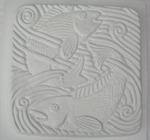 Fisk i vatten- gjutform
