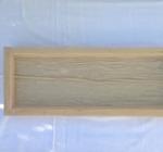 Träplank- gjutform