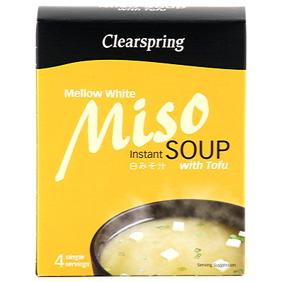 Mellow White Miso Soup