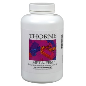 Meta Fem Basic Nutrients Thorne - Meta Fem Basic Nutrients Thorne
