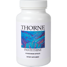 Pantethine 250 mg Thorne - Pantethine Thorne