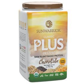 Sunwarrior Classic Plus Organic Chocolate