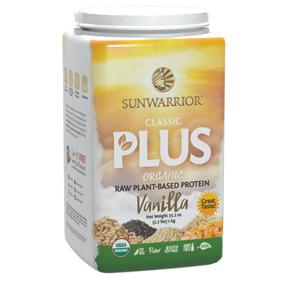 Sunwarrior Classic Plus Organic Vanilla - Sunwarrior Classic Plus Organic Vanilla