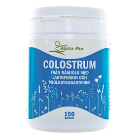Colostrum 120 kap Alpha Plus