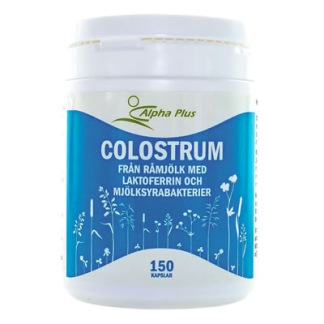 Colostrum 120 kap Alpha Plus - Colostrum 120 kap Alpha Plus