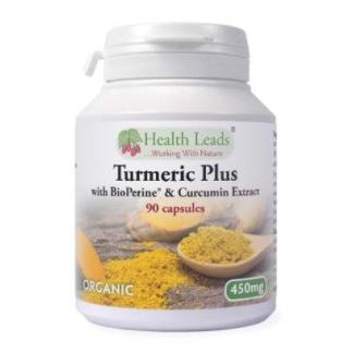 Gurkmeja/Turmeric Plus (eko) 90 kap
