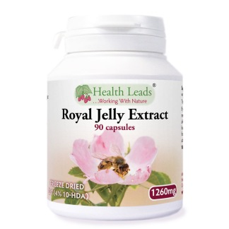 Royal Jelly Extract 1260 mg 90 kapslar